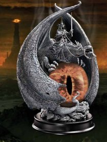 Lord of the Rings Socha The Fury of the Witch King 20 cm