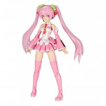 Hatsune Miku Frame Music Girl plastový model kit Sakura Miku 15
